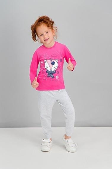 Roly Poly Rolypoly  Grimelanj Kız Çocuk Pijama Takımı Pembe